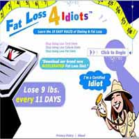 Fat Loss 4 Idiots image